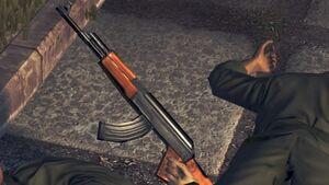 Dead cuban's ak