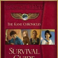The Survival Guide (a handbook similar to the Camp Half-Blood's Ultimate Guide)