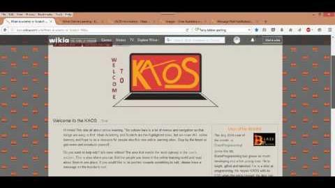 Introduction to KAOS Wikia site