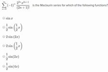 Maclaurin series3