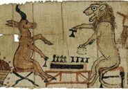 Satirical papyrus