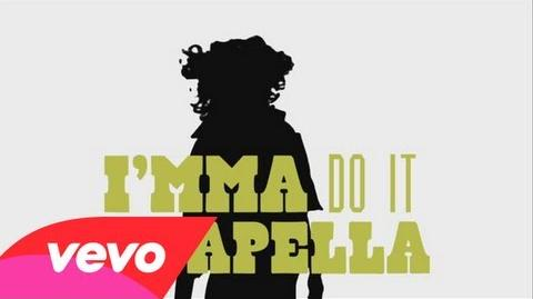 Acapella Lyric Video