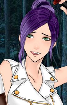 Koiso fuchida karneval purple hair anime woman manga appearance oc one