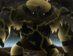 Electivire The beast in the Rain