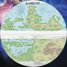 The World of Karsunt Full Map Low Definition