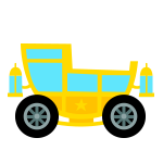 Yellow Cariage Kart