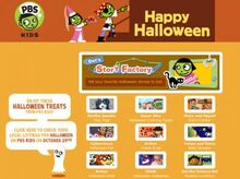 Pbs happy halloween pages copy