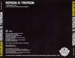 Reason Is Treason Promo CD (USA) - 4