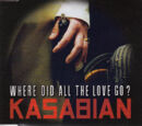 Where Did All The Love Go? CD Single (PARADISE64)