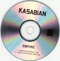Empire (Jagz Kooner Remixes) Promo CD-R - 2