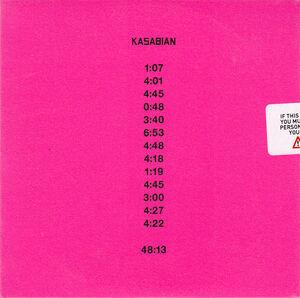 4813 Album Promo CD - 1