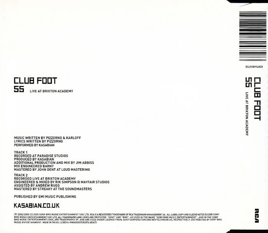 File:Club Foot Reissue Mini CD Single (PARADISE29) - 2.jpg