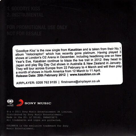File:Goodbye Kiss Promo CD (PARADISE73) - 3.jpg