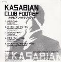 Club Foot EP (Japan) - 5