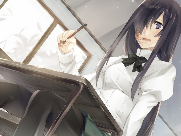Hanako's in class despair