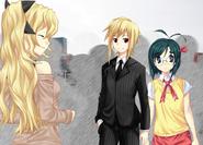 Akira with Hideaki