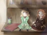 Hanako's doll set