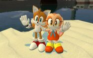 Tails and Cream GMod by SPArtist98