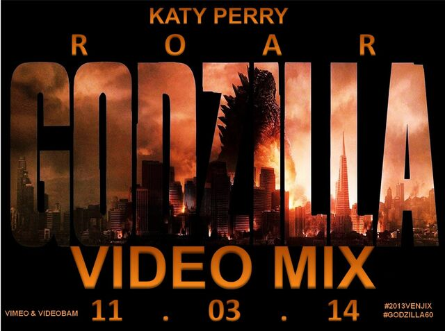 File:Katy Perry- Roar (Godzilla Video Mix) poster.jpg