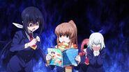 Nozomi rips Kazane's magazine off (Anime)
