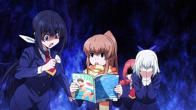 File:Nozomi rips Kazane's magazine off (Anime).jpg