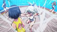 Miyata attacks Rin (Anime)