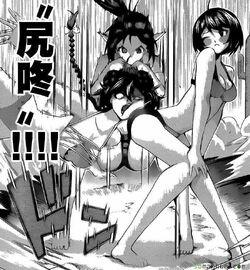 Nozomi&Saya Defeat Mizushima