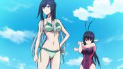 Shirayuki fights Nozomi