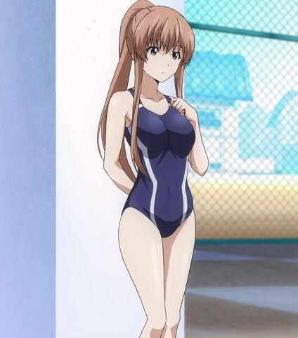 File:Kazane wears her swimsuit.jpg