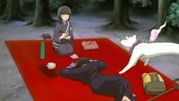 Yoshimori faints