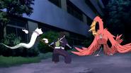 Ayakashi mocks Yoshimori