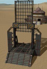 Defensive Gate Construction