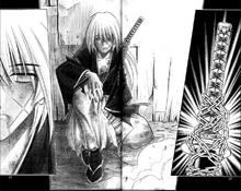 Kenshin as a shell of a man.