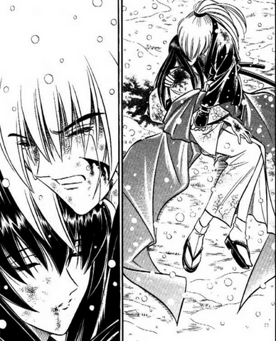 File:Kenshin holds Tomoe as she dies.png