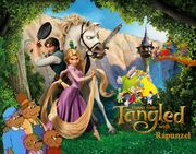 Danny Gets Tangled with Rapunzel