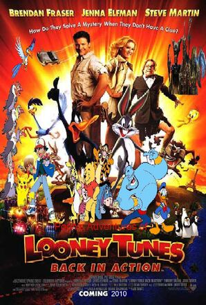 Pooh's Adventures of Looney Tunes Back in Action poster by BrianDuBose