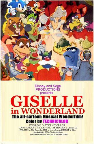 Disney and Sega's Giselle in Wonderland
