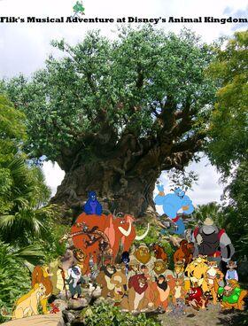 Benny, Leo and Johnny's Adventures of Flik's Musical Adventure at Disney's Animal Kingdom