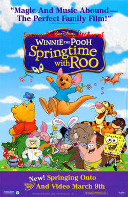 SpongeBob's Adventures of Winnie the Pooh; Springtime with Roo Poster