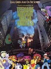 Pooh's Adventures of Teenage Mutant Ninja Turtles poster