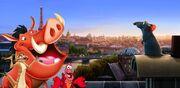 Timon and Pumbaa's Adventures of Ratatouille