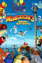 Pooh's Adventures of Madagascar 3 Europe's Most Wanted