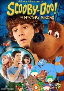 Littlefoot's Adventures of Scooby-Doo! The Mystery Begins Poster