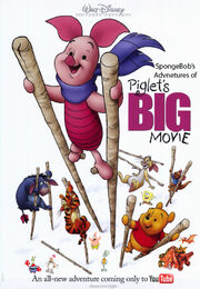 SpongeBob's Adventures of Piglet's Big Movie Poster