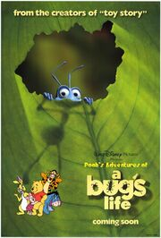 Pooh's Adventures of A Bug's Life Poster