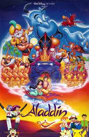 Ash's Adventures of Aladdin poster