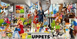 Pooh's Adventures of The Muppets Poster V2