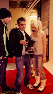 Kerli NOH8 Campaign Behind the Scenes Celebuzz 16