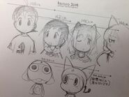 Keroro Height charts