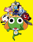 Keroro and the gang